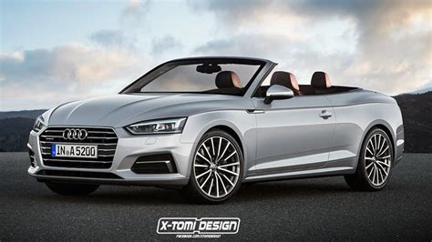 New Audi A5 2018 by Rendering 2018 Audi A5 Cabriolet
