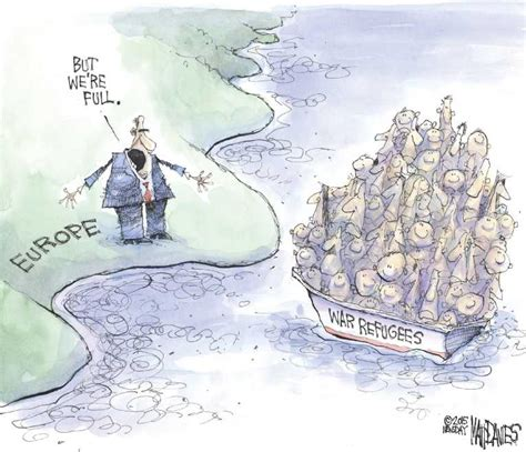political cartoons syrian refugees syria refugees bing images