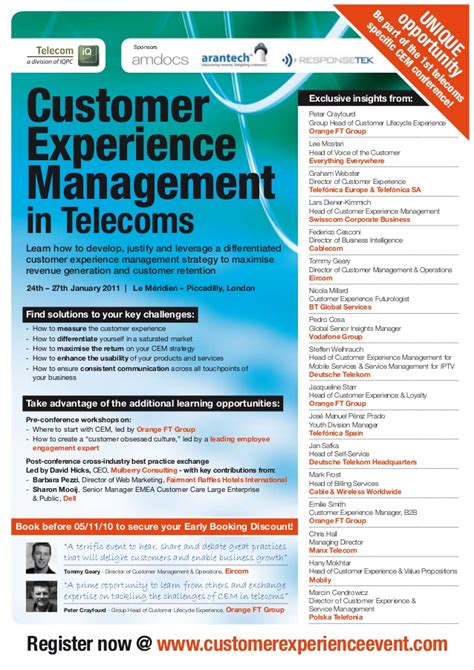 customer experience management in telecomspdf