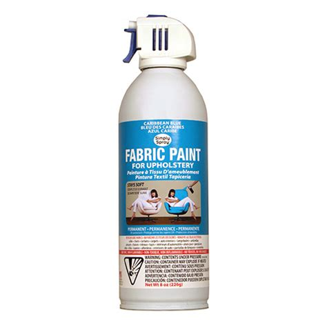 upholstery dye spray caribbean blue fabric dye spray paint quick easy effective
