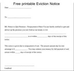 free template for eviction notice how to write an eviction letter template excel about