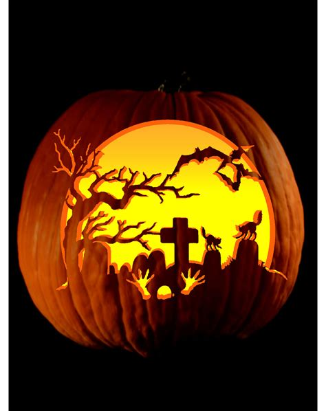 cool pumpkin templates pumpkin carving midnight playground this is cool