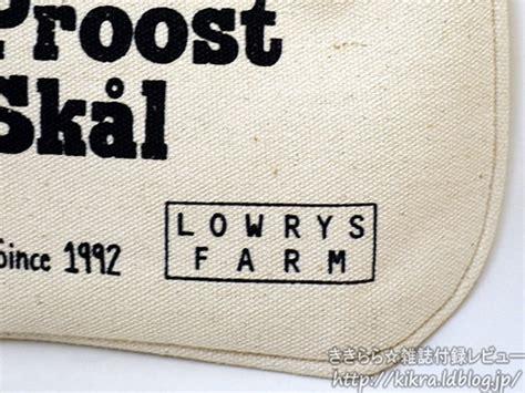 Rok Mini Lowry Farm Lowrys Farm 2012 Autumn Winter Collection Mini 付録 ローリーズ