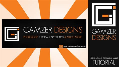 banner design in photoshop cs6 how to create a banner signature for intermediates