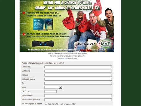 Www Smartsource Com Sweepstakes - smartsource game day mvp sweepstakes