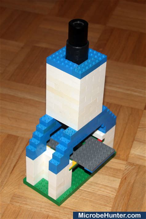 How To Make A Microscope Out Of Paper - a lego microscope microbehunter microscopy magazine