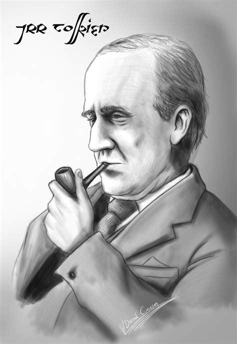 Portrait JRR Tolkien by curi222 on DeviantArt