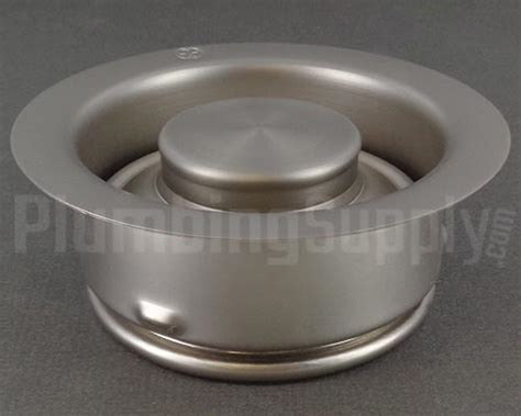 waste king garbage disposal sink flange garbage disposer flanges and stoppers in a variety of finishes