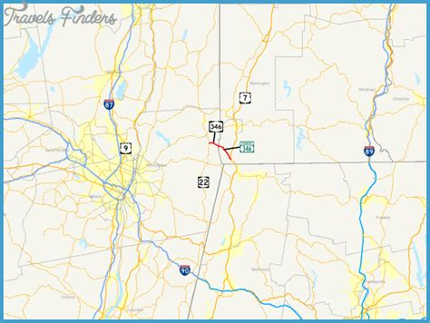 map of vermont and new york new york vermont map travelsfinders