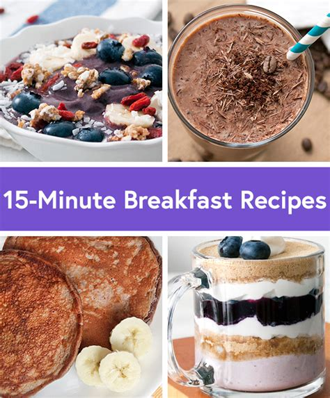 15 Healthy Breakfast Ideas by 9 Healthy Breakfast Recipes Ready In 15 Minutes Or Less