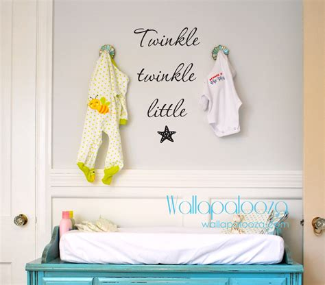 twinkle twinkle wall stickers twinkle twinkle wall decal starfish decal