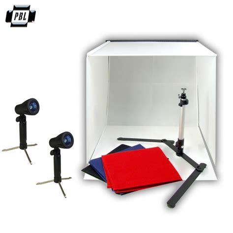 light box photography kit portable product photo light tent kit with halogen lights