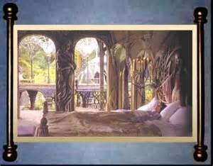 Elvish Home Decor Council Of Elrond 187 Lotr News Information 187 Elven Realms Rivendell Rooms