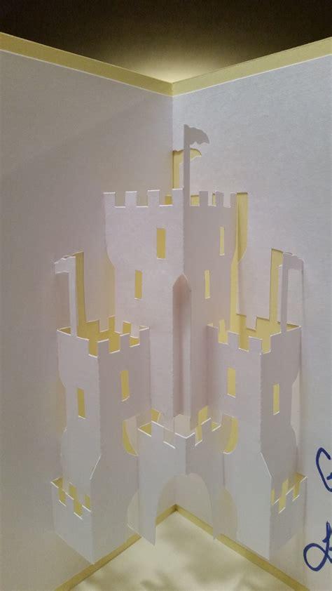 pop up card castle template castle pop up card nana cards pop up pop up cards
