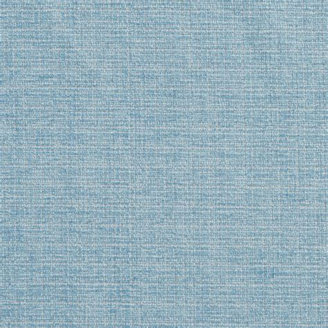 Light Blue Solid Woven Chenille Upholstery Fabric By The