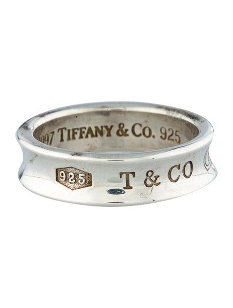 tiffany   band ring rings ti  realreal