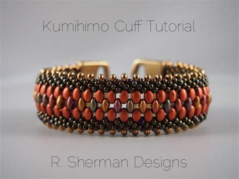 how to make a beaded cuff pdf tutorial kumihimo beaded cuff bracelet kumihimo pattern
