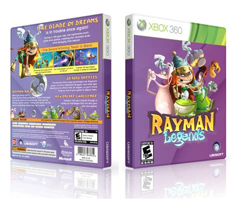 rayman legends xbox 360 cover rayman legends xbox 360 box art cover by lastlight