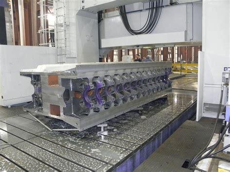 km machine fabricating articles  large machining