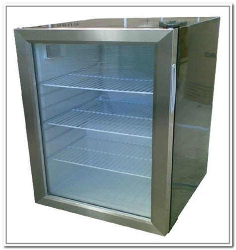 Fridges Stainless Steel Mini Refrigerator Glass Door Mini Glass Door Mini Refrigerators