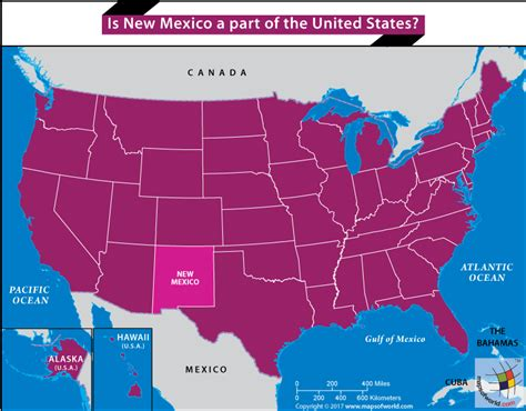 sections of the united states is new mexico a part of the united states answers