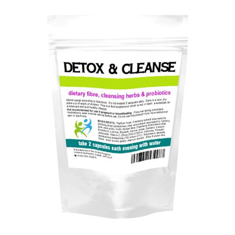 Pre Pregnancy Detox Cleanse by Detox Cleanse Capsules 90 Capsules Zoom Health Uk