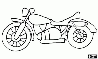 motorcycle coloring pages easy classic road motorcycle coloring page hudson s party