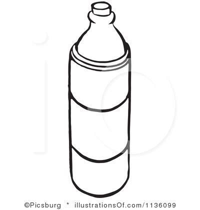 water bottle clipart black white clipartfest clipart
