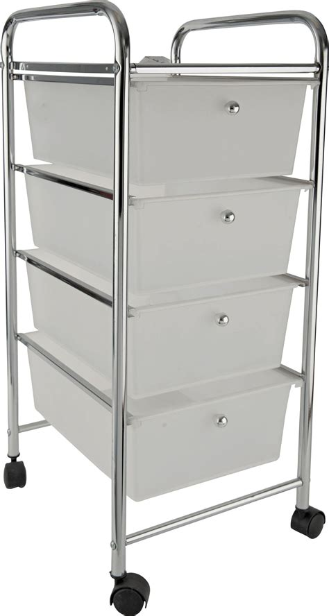 Drawer Storage Trolley On Wheels Storage Trolley Find It For Less