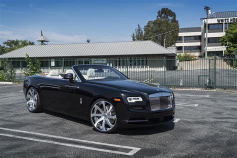 rolls royce wheels first rolls royce dawn gets forgiato wheels autoevolution