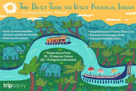 time  visit kerala india