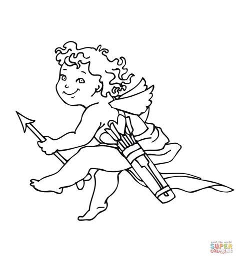 valentines day cupid pictures valentines day cupid pages coloring pages