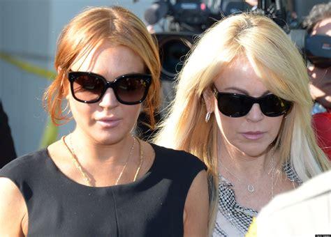 Lindsay Lohan Ditches Rehab by Amanda Cigarettes Wallpaper