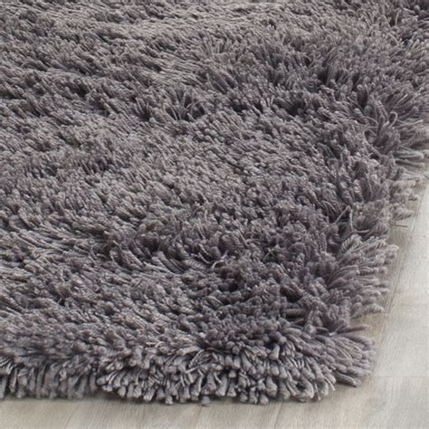 gray shag rug safavieh shag gray area rug reviews wayfair