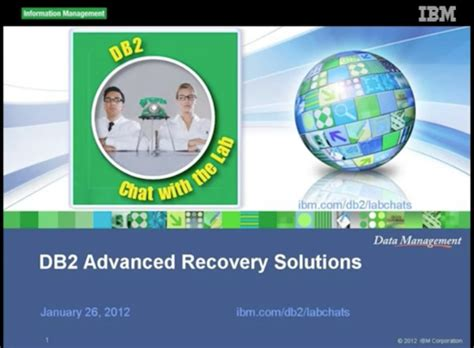 Advanced Recovery Solutions Detox by Db2 Tech Talk Db2 Advanced Recovery Solutions