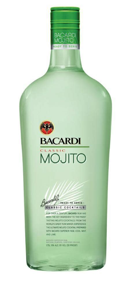 mojito cocktail mix review bacardi classic cocktail mojito drinkhacker