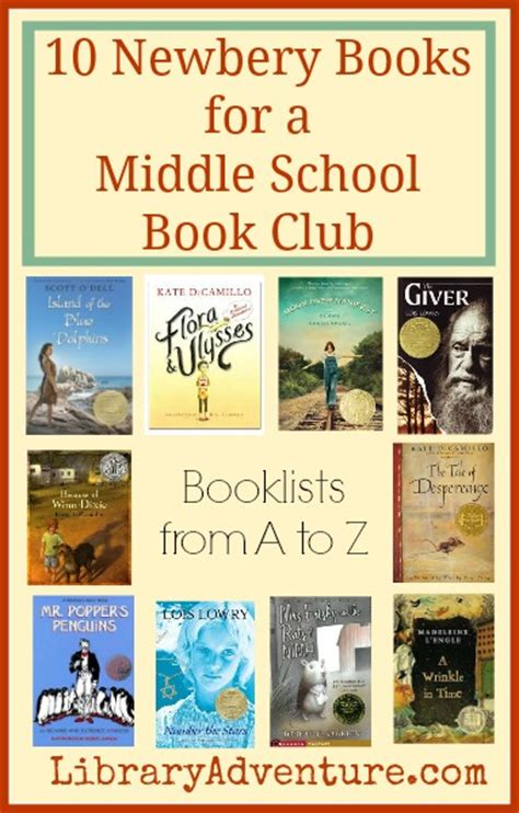 picture books middle school 10 newbery books for a middle school book club