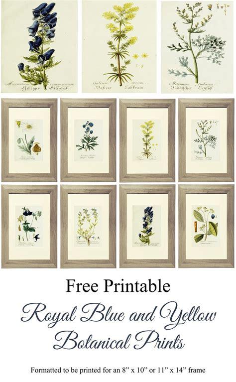 free printable alert botanical gallery wall live