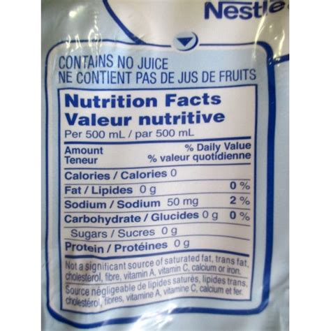 Detox Caign by Nestle Nutrition Facts Best Fact 2017