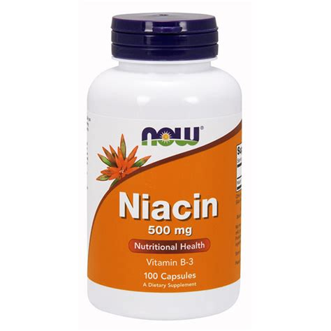 How Does Niacin Detox Take by Now Niacin 500 Mg Illpumpyouup