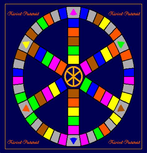 blank trivial pursuit card template trivia board template pictures to pin on