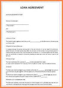 personal loan agreement template 6 sle personal loan agreement template purchase