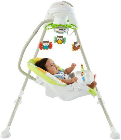 fisher price swing outdoor fisher price woodland friends cradle n swing walmart ca