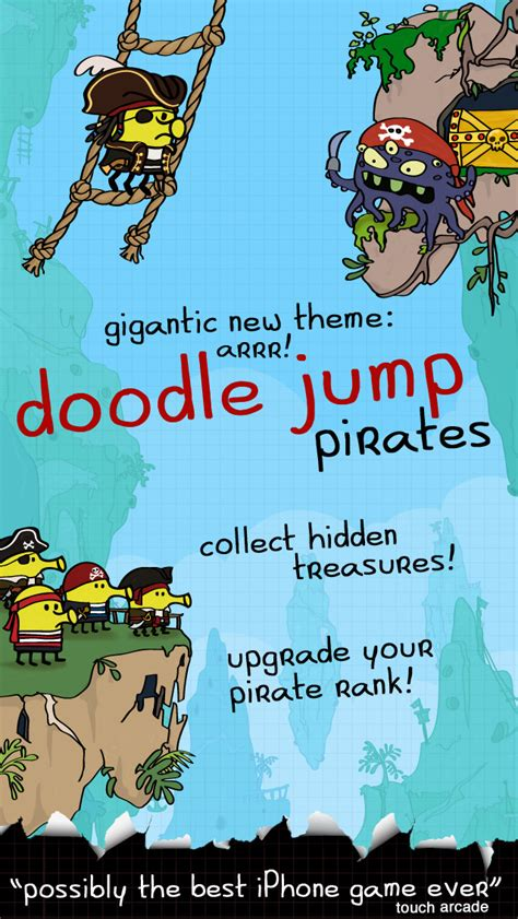 doodle jump pirate cheats doodle jump gets updated with new theme iclarified