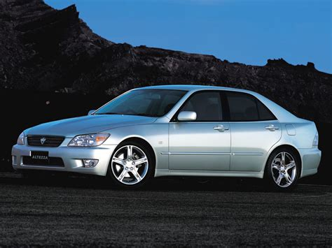 toyota altezza toyota altezza technical specifications and fuel economy