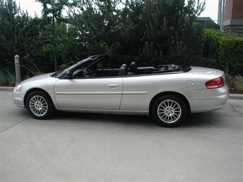 2004 chrysler convertible 2004 chrysler sebring convertible city