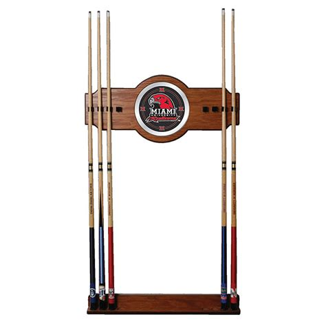 Billiard Wall Rack by Miami Ohio Billiard Pool Cue Stick Wall Rack Ebay