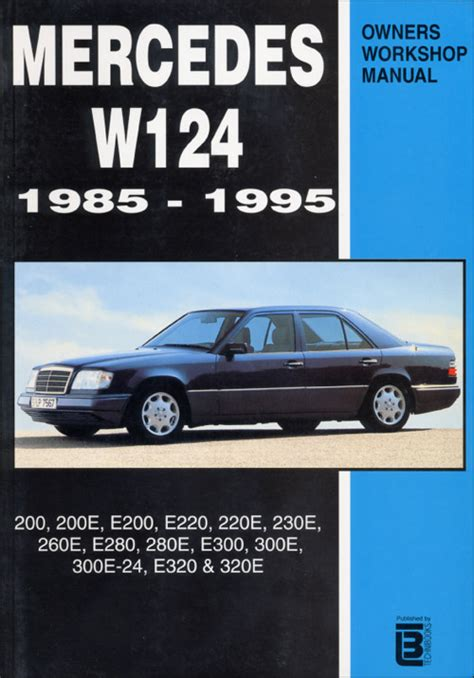 car service manuals pdf 1988 mercedes benz e class engine control mercedes benz e class 1987 1995 w124 books technical documentation page 1