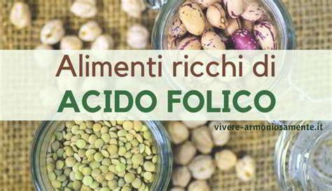 alimenti ricchi di acido folico alimenti ricchi di acido folico le migliori fonti