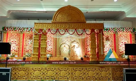 marriage home decoration reception and marriage stage decoration at nt mahal 100ft